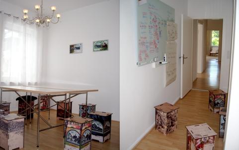 Jugendstilzimmer im Coworking Space Königstein