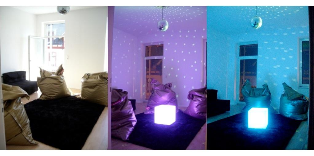 Die Lounge im Coworking Space Königstein